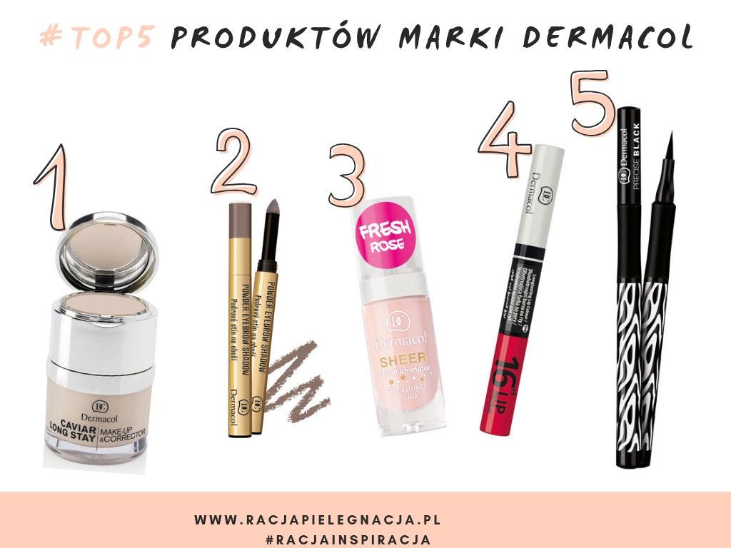 Top 5 produktów marki Dermacol, z którymi warto się zapoznać.